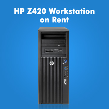 HP Z420 Workstation on rent