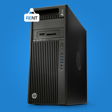 HP Z440 workstation on Rent